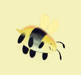 The Humble Bee Lies Down by Remiaro