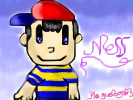 Ness by PlagueDogs123