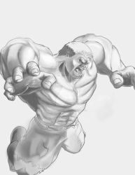 Value Shaded Hulk by MadMexicanMike