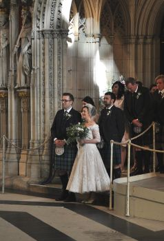 Wedding Party, York by monophoto