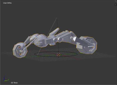 Futuristic Motorcycle by RoTheKid