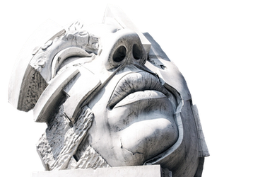 Face Monument PNG by chaseandlinda