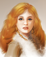 Val - The Wildling Princess by mattolsonart