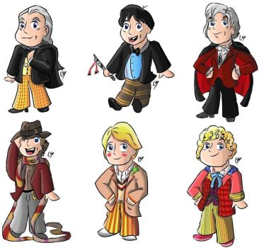 Doctor Who Stickers by KarToon12