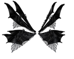 Gothic Fae Wings by dyingbeauty-stock