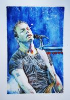 Chris Wolstenholme watercolor by myuuhailurusu