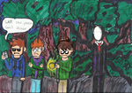 eddsworld meets slenderman by spiderchar