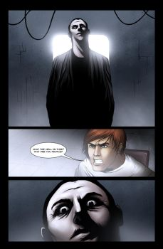 Pale Dark, issue 1, page 3 rough version by IsleSquaredComics