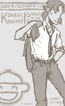 Togusa for anonymous by mistress-samwise