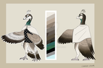 Character Reveal #9 - Dianne the peacock by Mate-ko