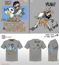 Rockin' A Griffin by tombancroft