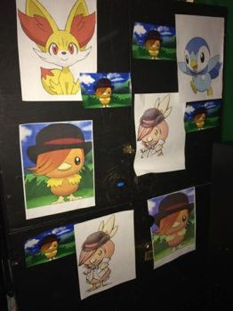Wall of Roman TORCHIC by Yuki-the-Trickster