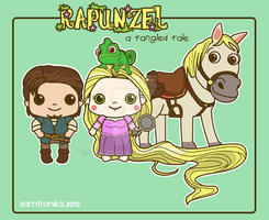.:Disney:. Rapunzel and Co by SaMtRoNiKa