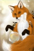 playful fox by Ighon