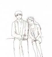 Roy and Riza by GoldenCyfail