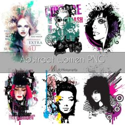 Abstract women PNG by noema-13