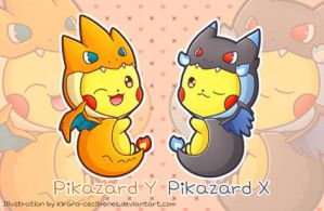 Pikazard X and Y by Kirara-CecilVenes