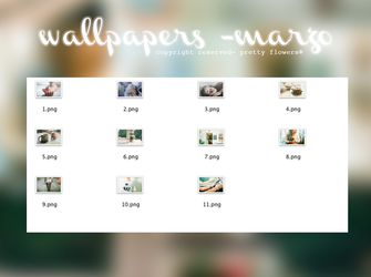 wallpapers - marzo. by LittlePrettyFlowers