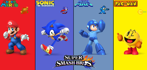 Gaming Mascots for Super Smash Bros. by ClariceElizabeth