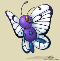012: Butterfree by Mabelma