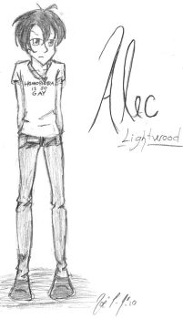 Alec Lightwood by OstentatiousNature