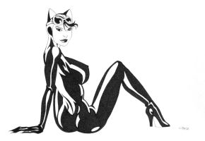 Catwoman Lounging 2 by ESO2001