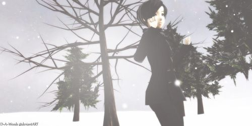 .::MMD::. Casual Winter Mew ~ Download by D-A-WOODS