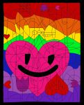 Flowers, Hearts, and Happiness by googly-googly2