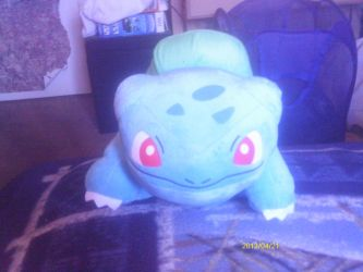 Bulbasaur Plush by Sliverbolt