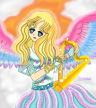 Flowing Melody  by TinaBalena