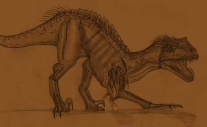 Indoraptor by Adiraiju