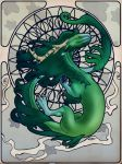 Mucha Spring Dragon by morArthfael