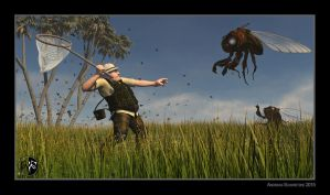 The Bug Hunt by arteandreas