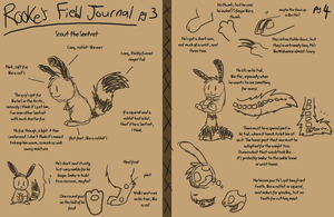 Rooke's Field Journal - Sentret