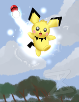 Pichu I choose YOU! by FreakyComics