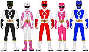 Power Rangers Genesis by exguardian