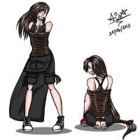 Tifa Colored by XKhFan4EverX