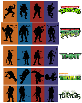 ninja turtles - 5 generations by natestarke