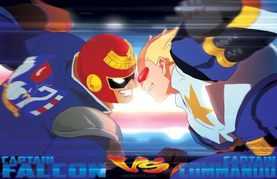 Facing off - Captain VS Captain by theCHAMBA