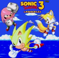 Sonic 3 and Knuckles by LuckyBucket46