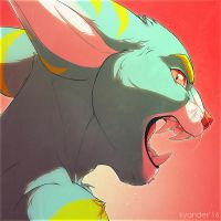 An angry icon by kyander