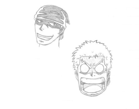 Zoro Sketch by ColonelYeo