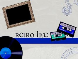 Retro Life by Looreennaa
