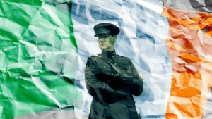 Michael Collins-Irish Flag by theevilgenious187