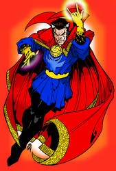 Dr. Strange The Sorcerer Supreme by portfan