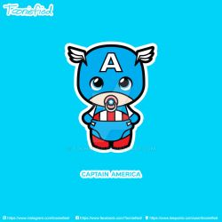 Captain America by Tooniefied