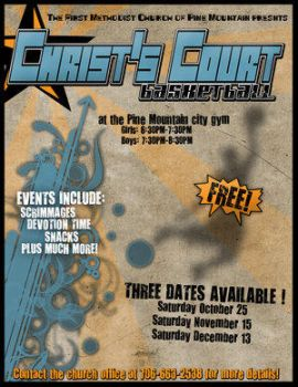 Christ's Court Basketball by christians