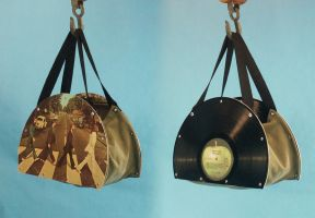 Abbey Road Record Hand Bag by Spence2115