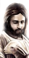 Jesus Christ by catandcrown