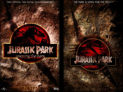 Jurassic Park IV Poster by marty-mclfy